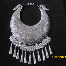 Costumes Necklace Miao Hmong-Collar Dance-Accessory Chinese Folk