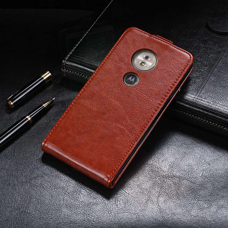 Voor Motorola Moto G6 Spelen case Fundas Moto G6 Play cover terug huid Luxe Flip Lederen capa Voor Coque Moto G6 Spelen Cover pouch
