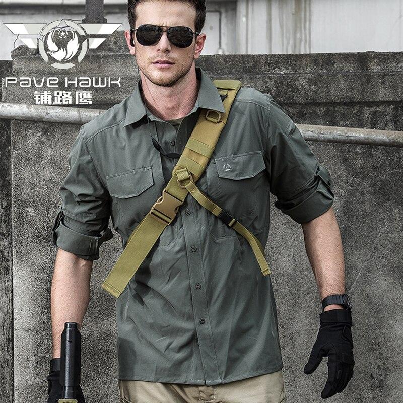 Randonnée chemises hommes Gym Slim Fit solide à manches longues séchage rapide en plein air Sport Camping pêche t-shirt vêtements militaire tactique chemise