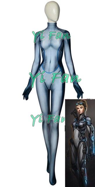 Nova Costume 3D Print Lycra Spandex Nova Cosplay Costume Custom Made Zentai Bodysuit Halloween costume for