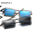 Fashion Cool Polarized Sunglasses Men Mirror Lense UV400 Classical  Sun Glasses Alloy Spectacles Male For Fishing Driving