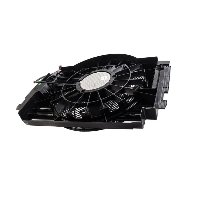 Car Engine cooler air conditioner electric <font><b>fan</b></font> E53 X5 2004-2006b mw4.4 3.0 4.8 4.6i Electronic <font><b>fan</b></font> <font><b>Cooling</b></font> net <font><b>fan</b></font> frame <font><b>motor</b></font> image