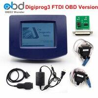2019 Digiprog3 V4.94 Digiprog 3 OBD Odometer Programmer Digiprog 3 FTDI Main Unit ST01 ST04 OBDII Cable Odometer Correction Tool