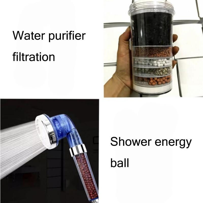 Насадка для душа, фильтр, смягчающая воду, насадка для душа, фильтр для воды, смягчающая насадка для душа, водосберегающая терапия, спа-насадка для душа