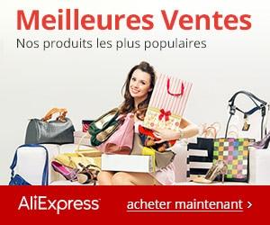 publicité aliexpress
