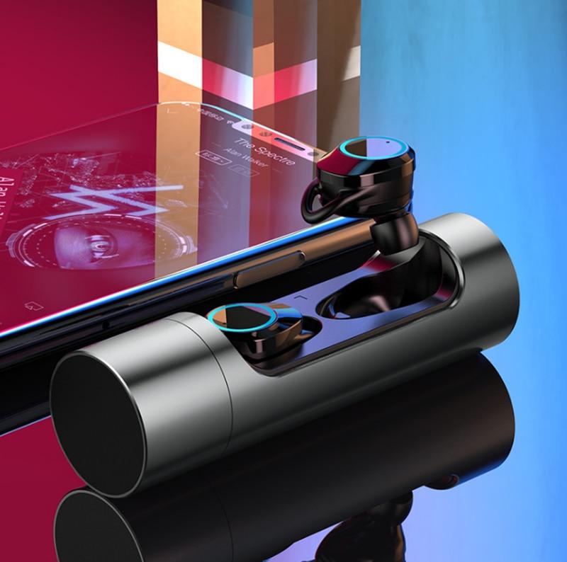 2018 Nieuwe HAOBA X8 Bluetooth V5.0 TWS Oortelefoon Waterdichte Draadloze Stereo Oordopjes voor XIAOMI iphone Telefoon Met Opladen Doos-in Telefoonoordopjes en hoofdtelefoons van Consumentenelektronica op  Groep 1