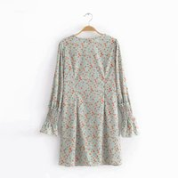 Women Summer Elegant V Neck Half Sleeve Pockets Loose Party Vestido Casual Baggy Work Striped Dress Sundress Oversized