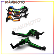 for KYMCO K-XCT125 K-XCT300 K-XCT400 with logo CNC Motorcycle Accessories Folding Extendable Adjustable Brake Clutch Levers