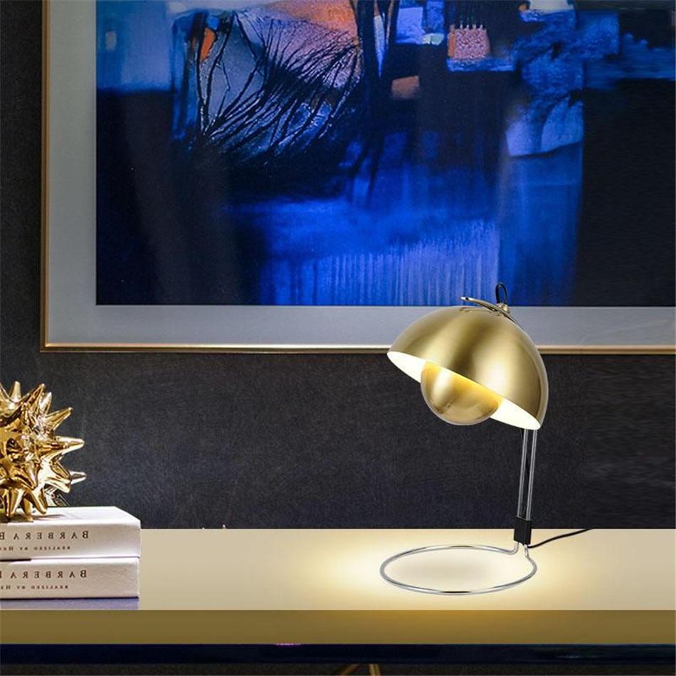 Nordic Table Lamp Lamparas De Mesa Dining Room Tiffany-style Decor Home Plumon Cama Lamp for Office Led Desk Lamp Study Loft Art