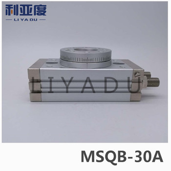 SMC type MSQB-30A rack and pinion type cylinder / rotary cylinder /oscillating cylinder, with angle adjustment screw MSQB 30A