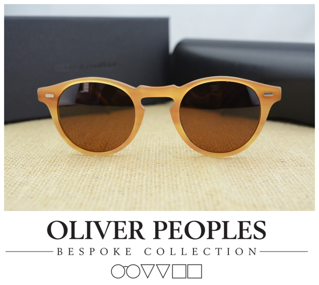 f186ed0992 Oliver peoples Gregory Peck ov5186 polarized sunglasses men and women  sunglasses free