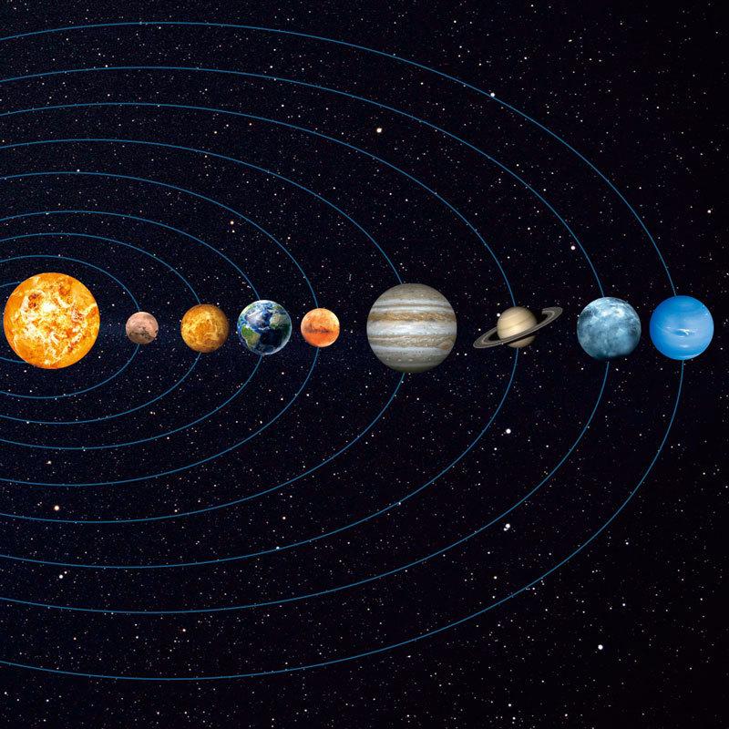 Вся солнечная система рисунки картинки фото