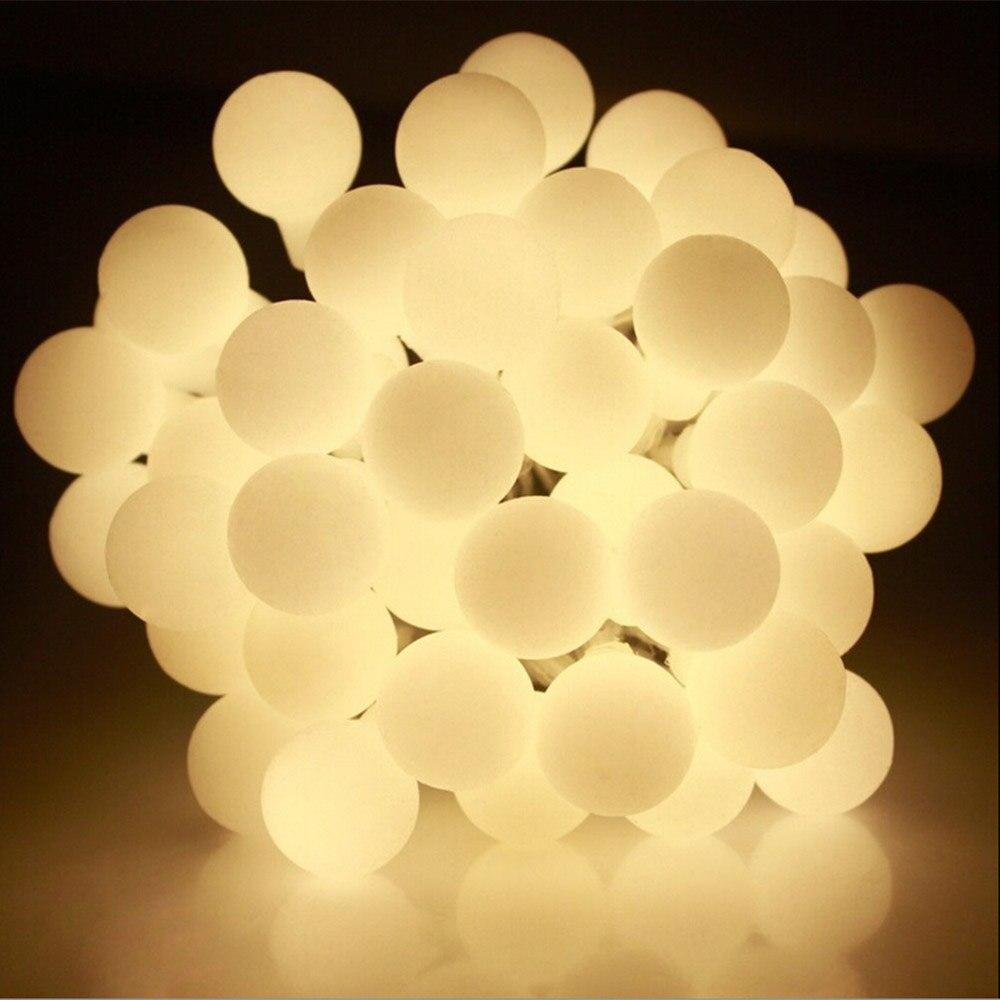 10 M 100 LEDs AC220V/AC110V Festa Do Casamento Do Feriado de Natal LEVOU Luzes Da Corda à prova d' água IP65 Ao Ar Livre luzes Decotation