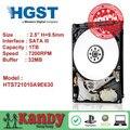 HGST Travelstar 1 TB hdd 2.5 SATA 7200 rpm disco duro portátil sabit interno unidad de disco duro interno portátil hd disco duro de 9.5mm
