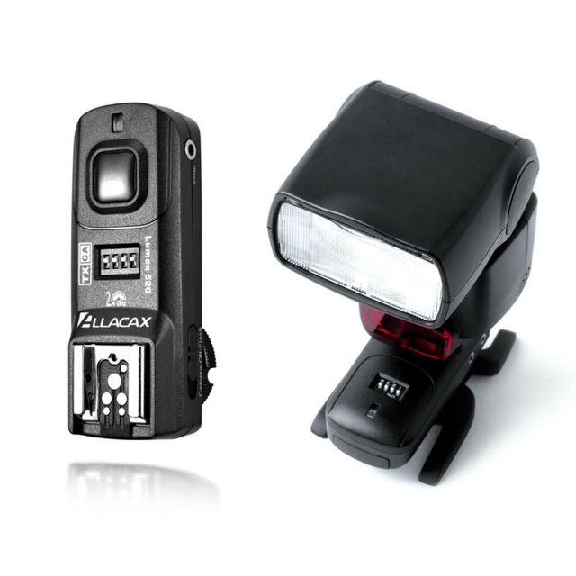 Lumox 520 2.4GHz 4 In 1 Trigger Kit Radio Wireless Trigger Starter Kit, Shutter Release, for CANON 7D, 50D,1TX+1RX