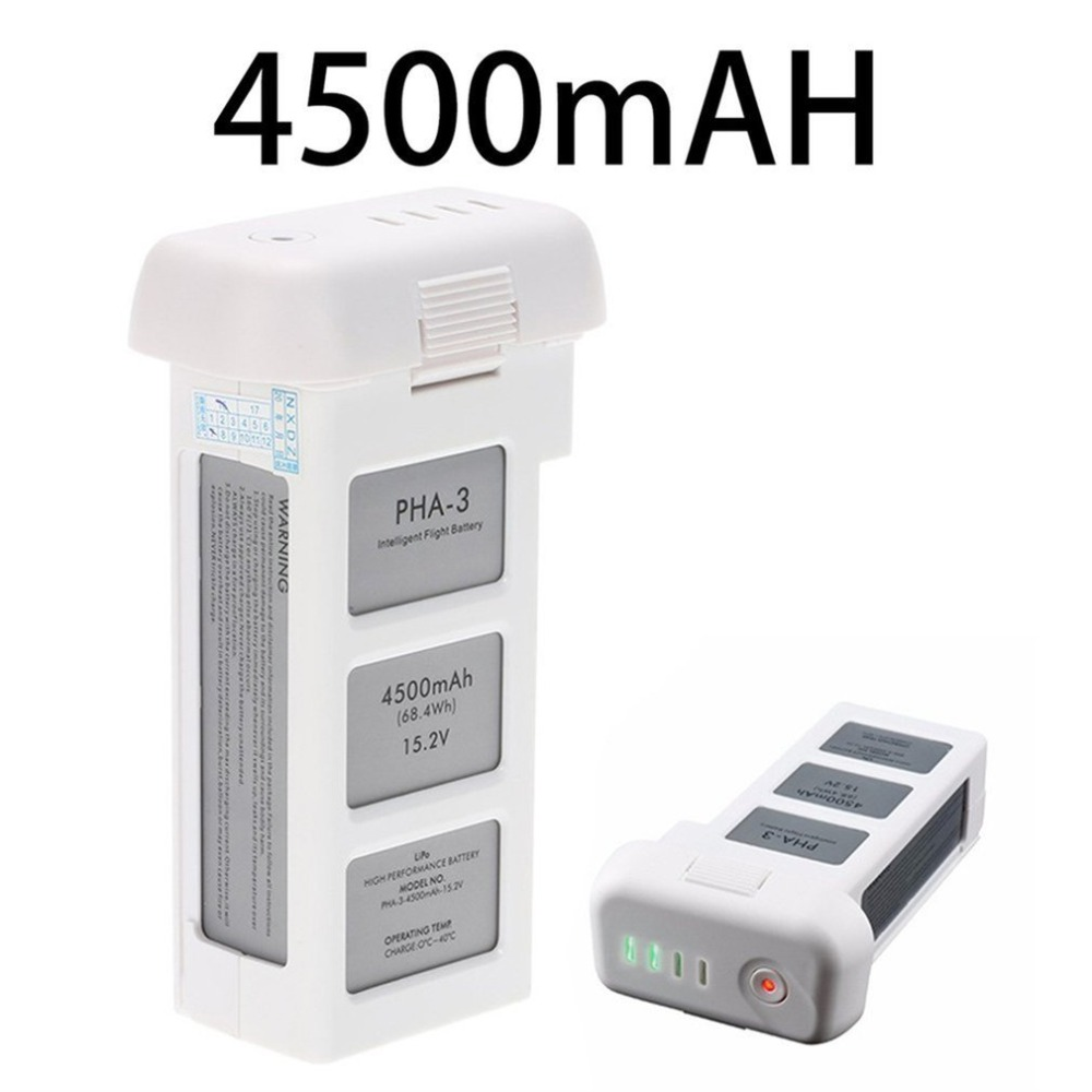 15.2V 4500mAh Drone Battery For DJI Phantom 3 Professional/3/Standard/Advanced LiPo 4S Intelligent Battery Up To 23 Minutes