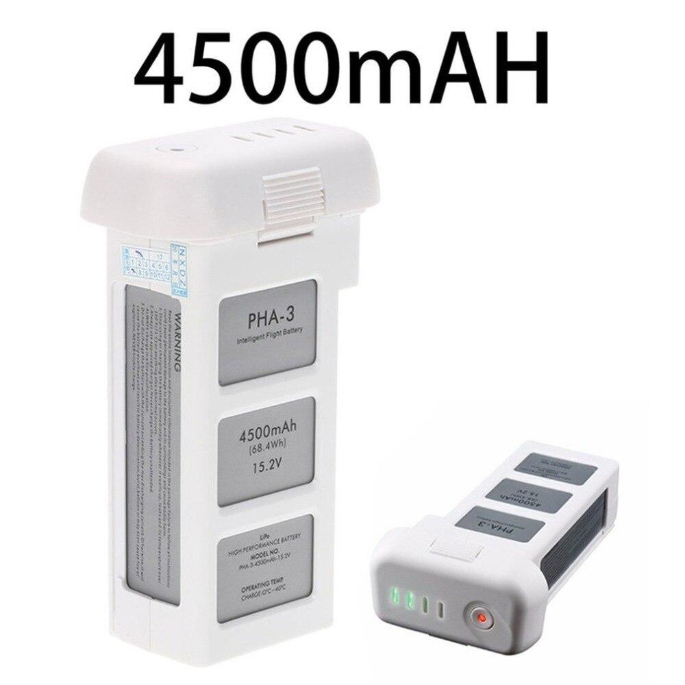 Batterie Drone pour DJI phantom 3 professionnel/3/Standard/avancé 15.2 V 4500 mAh LiPo 4 S batterie intelligente jusqu'à 23 minutes - 3