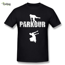 2018 New Arrival Men Parkour T Shirt Cool Stylish Streetwear T-shirt For Man Top Tees