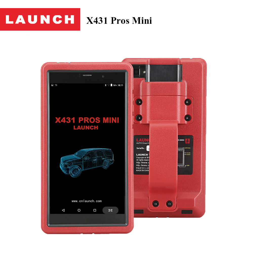 2017 Launch X431 Pros Mini Advanced Automotive Diagnostic Tool OBD2 Scanner Code Reader with Wifi and Bluetooth