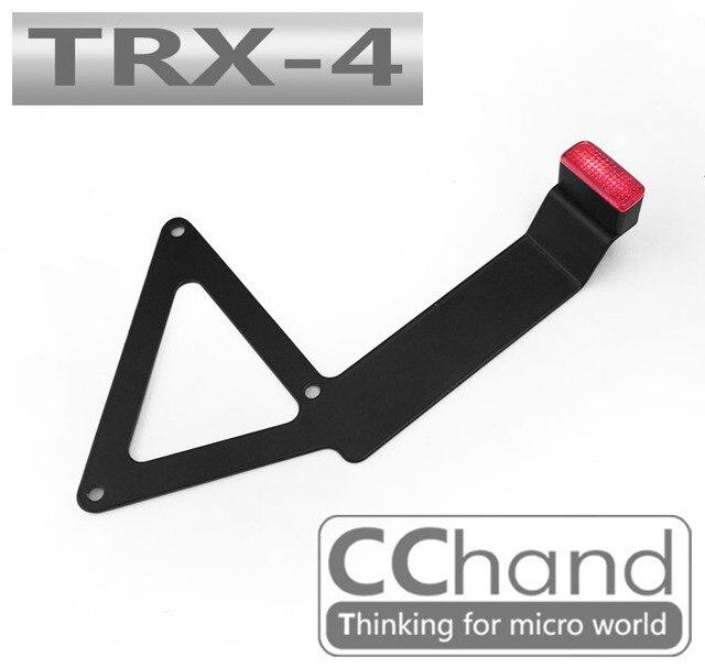 1/10 TRAXXAS Trx 4 TRX4 CNC Metal trasero freno luz marco Rc ...