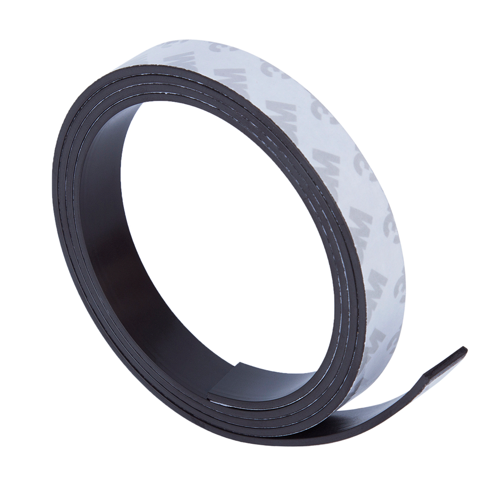 High Quality 1 Meters 1m Self Adhesive Flexible Magnetic Strip 3M Rubber Magnet Tape 10*2mm width 10mm thickness 2mm free shipping flexible magnetic strip rubber magnet width 1pcs 297x210x1mm wothout adhesive