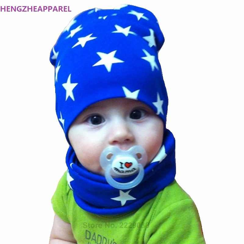 1 Set Autumn Winter Crochet Baby Hat Girl Boy Beanie Cap Children Hats  Toddler Kids Hat b30cfb18a5ab