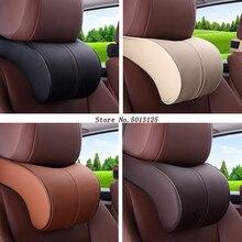 Car Seat Cushion Head Back Neck Rest Pillow Memory Foam Cushions For BMW F30 F10 F25 X5 F15 X6 F16 G30 F45 G11 G12