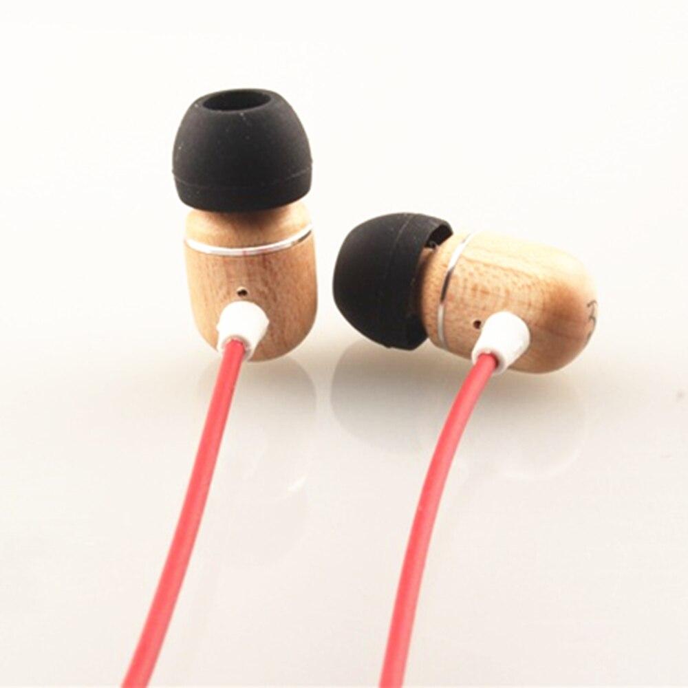 BOSSHIFI B1 In Ear Headphones High Quality Maple Wooden Earphone Clear Sound Earbuds HiFi Good Bass Fone de ouvido Auriculares panasonic rp hxs400m a sound rush plus on ear headphones