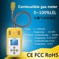 Новейший газовый детектор  газовая сигнализация  детектор утечки горючих газов  регулируемый звуковой сигнал  сигнализация  тестер для дом...