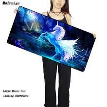 Mairuige Animal Horse Customized Support Mouse Pad Unicorn Fantasy Computer Notebook Rubber Mice Mat for LOL surprise CSGO DOT
