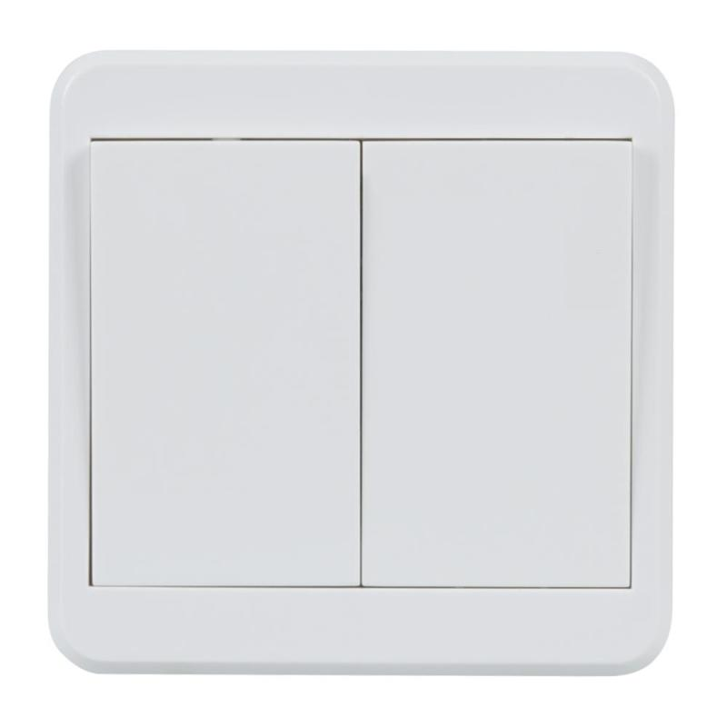 433 MHz RF Transmitter 2CH 86 Wall Panel Remote Control Switch Learning Code 1527 Wireless Lights Switch Kit Strong RF Signal dc12v rf wireless switch wireless remote control system1transmitter 6receiver10a 1ch toggle momentary latched learning code