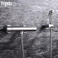 Блаватская высокое качество настенный термостатический ручной биде кран латунный Ванная комната mop и туалет Тематические товары про репти