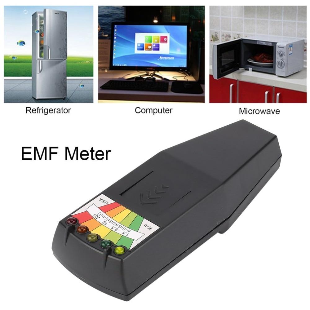 Heißer Elektromagnetische Strahlung Detektor LCD Allgemeine EMF Meter Dosimeter Tester für Paranormale Forschung Schädlichen Exposition Messen