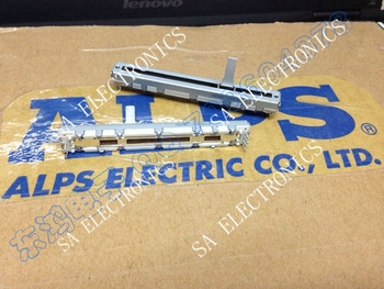 [SA]Japan ALPS7.5 cm slide potentiometers double D10K 15MM shaft--10PCS/LOT