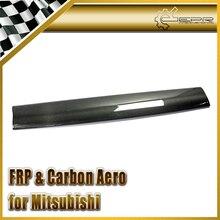 Эпр стайлинга автомобилей для mitsubishi evolution evo 7 углеродного волокна oem спойлер крыло лезвие на складе