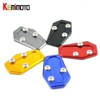 KEMiMOTO For BMW R 1200 T Motorcycle Side Stand Plate Pad Kickstand For BMW R1200RT 2014