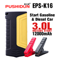 PUSHIDUN-Booster Hammer Safety Portable Battery Car Jump Starter Power Bank Starting Device for Cars&Charger for Car Battery