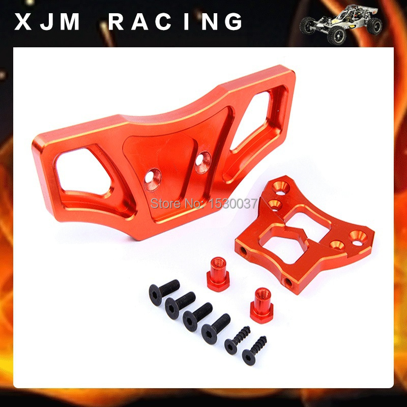 1/5 rc car racing parts,CNC Alloy Front Bumper for 1/5 scale HPI ROVAN Baja 5B/5T/5SC truck alloy front hub carrier for 1 5 hpi baja 5b 5t 5sc