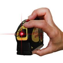 Upgrade Multipurpose laser level line lasers Horizon Vertical Measure Tape Aligner Bubbles Ruler Measuring diagnostic-tool стоимость
