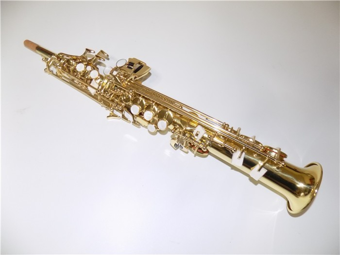 b Sopranino Brass Body Saxophone with Foambody case shipping time 8-13 days Musical Instruments Sale begins