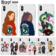 American TV Riverdale Jughead Jones Woz Here Soft Phone Case Cover For iPhone 5 5S SE 6 6S Plus 7 7Plus 8 8 Plus X XR XS MAX(China)