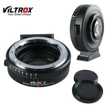 Viltrox NF M43X מוקד מפחית מהירות מאיץ מתאם טורבו w/צמצם עבור ניקון עדשת כדי M4/3 מצלמה GH4 GH5GK GH85GK GF7GK GX7