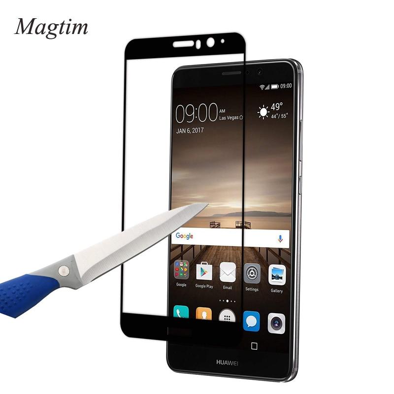 Film en verre trempé 3D à couverture complète pour Huawei Mate 8 Mate 9 P9 P10 plus protecteurs décran 9H verre trempé pour Honor 6X 7X 8X