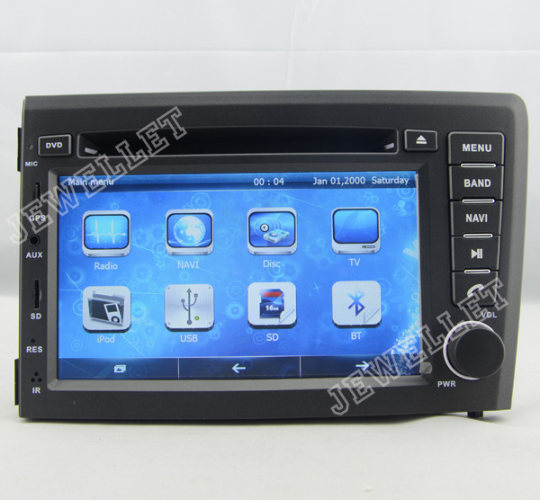 Car DVD GPS radio Navigation for Volvo S60/ V70/ XC70 2000-2004 with Radio, DVD, PIP and GPS radio map
