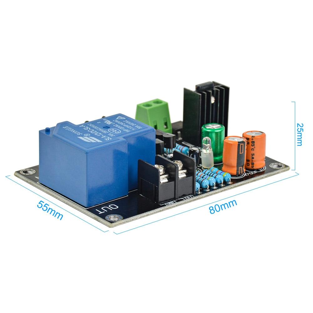 30A 900W Mono Amplifier Speaker Protection Board Module Single Channel AC 12~15V