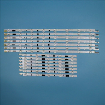 832mm 14 Piece/Set LED Array Bars For Samsung UE40F6270SS UE40F6170SS 40 inches TV Backlight LED Strip Light Matrix Lamps Bands