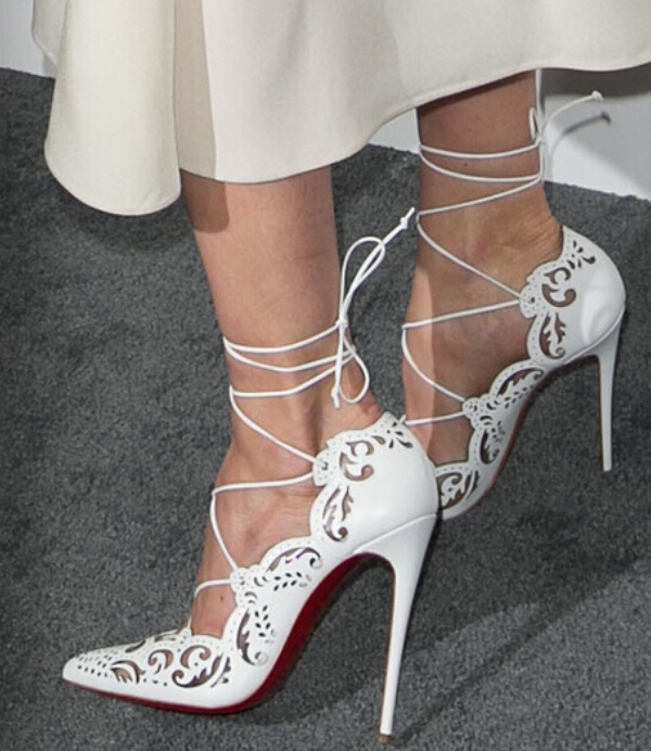Christian Louboutin Tie Up Pumps