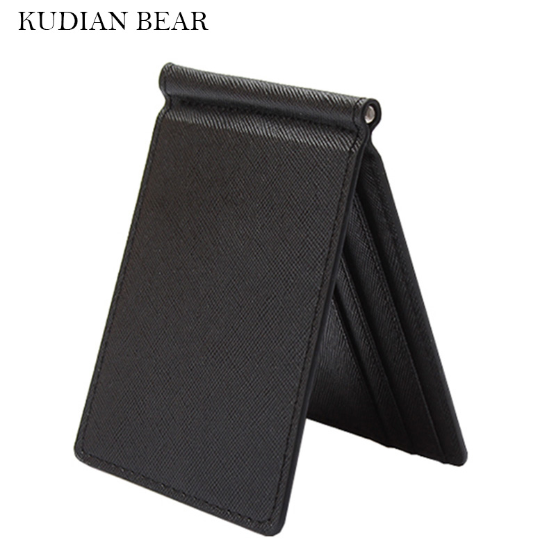 kudian-bear-slim-men-money-clip-wallet-mental-solid-male-purses-designer-i-clip-cash-holder-card-cases-bid213-pm49