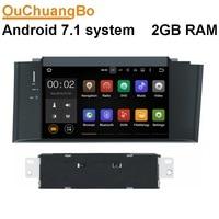 Ouchuangbo android 7.1 auto audio radio fit voor Citroen C4 C4L 2011 2012 2013 met wifi Bluetooth spiegel link GPS 2 GB RAM
