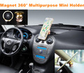 Nuevo Mini oro magnético soporte para teléfono para el coche imán tablero de instrumentos especial Logo Holder IPAD GPS para VW BMW AUDI Honda Benz Ford Toyota